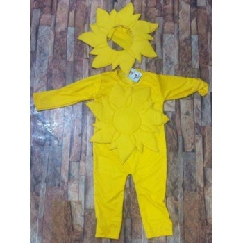 Sunflower Costume For Kids