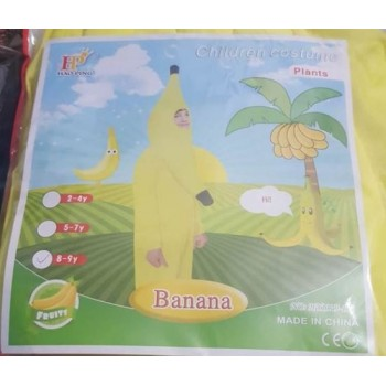 Banana Fruit Costume For Kids.