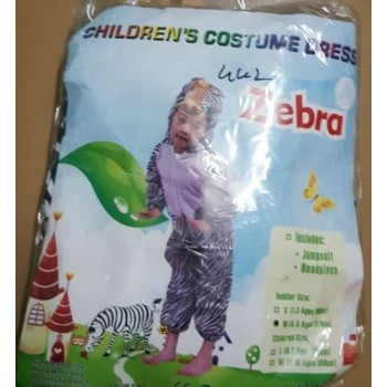 Zebra Animal Costume for Kids
