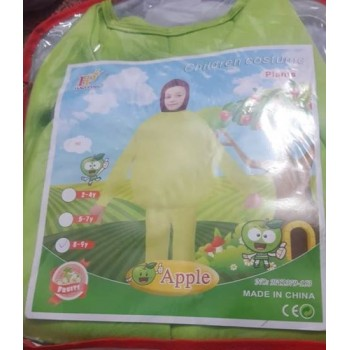 Apple Fruit Costume For Kids
