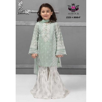 2-Pcs Embroidered Lawn Kids...