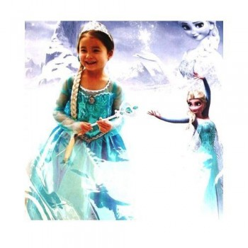 Frozen Dress Elsa For Girls