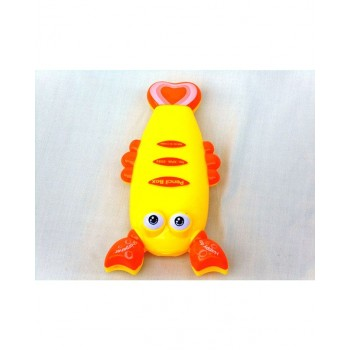 Crab Pencil Box Yellow