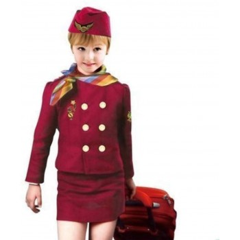 Air Hostess Costume For Girl