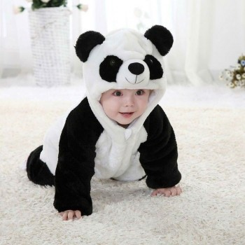 Panda Coral velvet Jumpsuit...