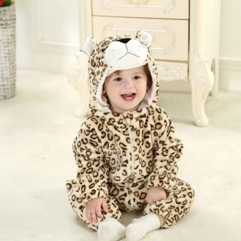 Light Brown Leopard Velvet...