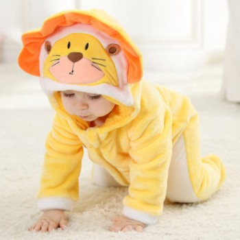 Yellow Lion Animal Baby...